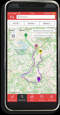 tracer un parcours sur une carte OpenRunner
